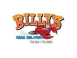 ร้านอาหาร Billys crab delivery